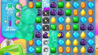 Candy Crush Soda Saga Level 1423 - NO BOOSTERS