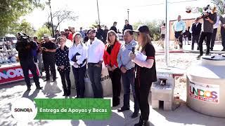 Seguimos este día de trabajo y entrega de #Apoyos y #Becas ahora desde #Atil ✅