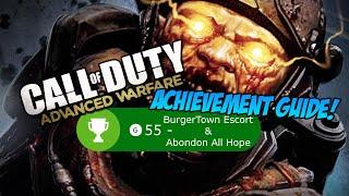 "COD: Advanced Warfare: ""Abandon All Hope & BurgerTown Escort Service"" Achievement Guide!"