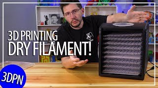 How to Keep Your Filament Dry: Using a Food Dehydrator