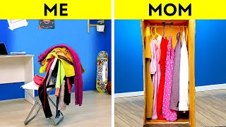 25 New Organizing Hacks to Make Your House Look Bigger || Clothes Folding Tricks by 5-Minute DECOR!
