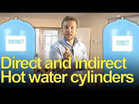DIRECT & INDIRECT HOT WATER CYLINDERS - Plumbing tips