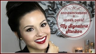 My Signature Starbox | Announcement & Sneak Peek! Thumbnail