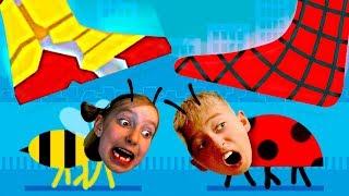 - Я СТАЛ маленьким Муравьем в игре Squashy bug Букашки игра новый челлендж детский летсплей Мы играем