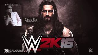 "WWE 2K16 Official Soundtrack - ""Deep Six"" by Marilyn Manson [with download link]"