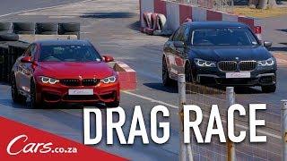Drag Race   BMW M4 Competition Pack vs BMW M760Li