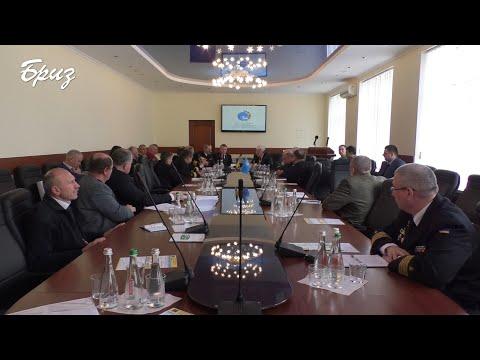 Телерадіостудія Бриз МО України: Нарада-семінар з питань розвитку і безпеки навігації у Чорному та Азовському морях.