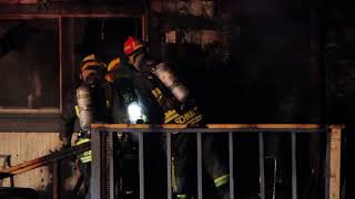 Raw: Fatal house fire in Surrey