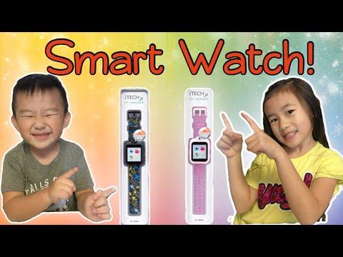 ITECH JR Kids Smartwatch Review   Unboxing