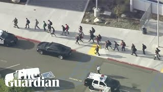 Santa Clarita: Students escorted out of Saugus high school after reports of active shooter