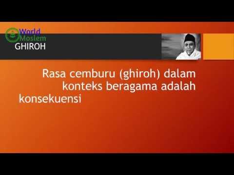 BUYA HAMKA: GHIRAH (RASA CEMBURU)