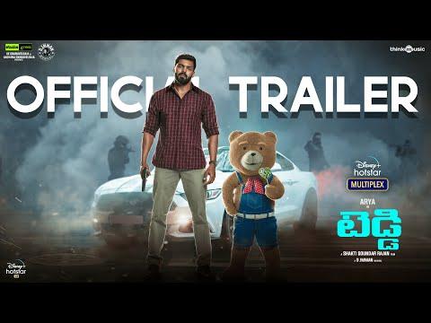 Teddy   Official Trailer Telugu   Shakti Soundar Rajan, Arya & Sayyeshaa   Streaming From Mar 12