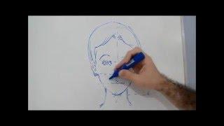 Desenhando Rosto de Criança / How to Draw a Child
