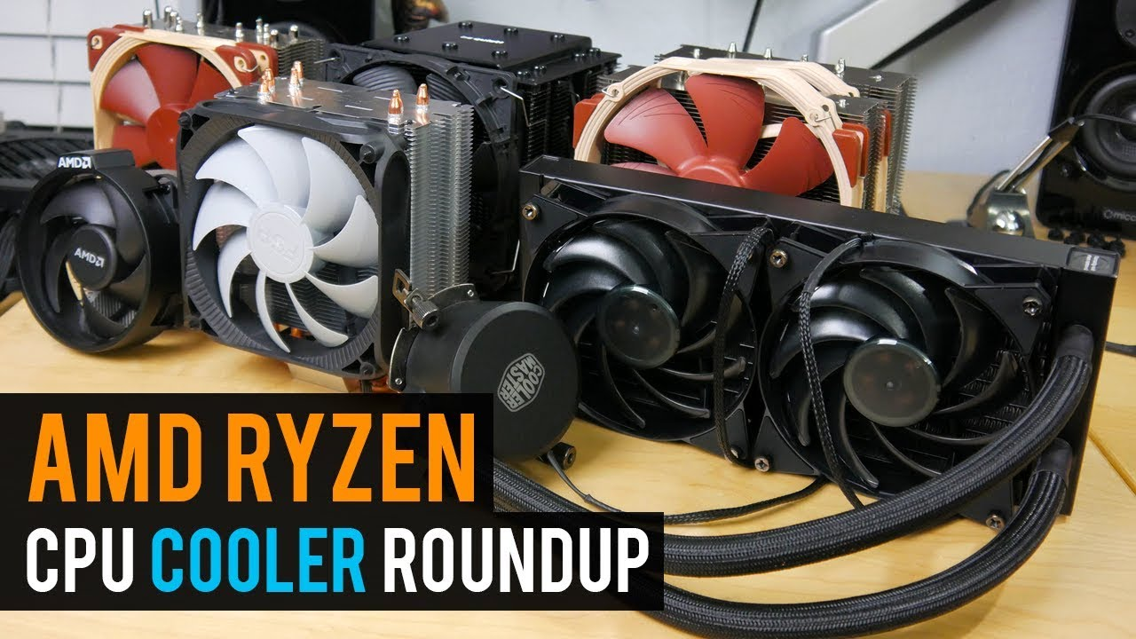 Amd Ryzen Am4 Cpu Cooler Roundup Youtube