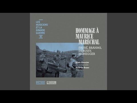 Sonate pour violoncelle et piano No. 1, L. 135: III. Finale