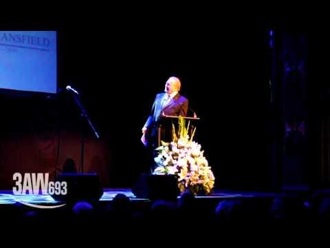 Bert Newton pays tribute to Bruce Mansfield