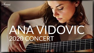 ANA VIDOVIC Classical Guitar Concert 2020 - Live Chat with Ana Vidovic