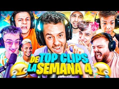 🥳 TOP CLIPS DE LA SEMANA #4 🥳 - Mejores Momentos Twitch España & LATAM #mejoresmomentos #twitch