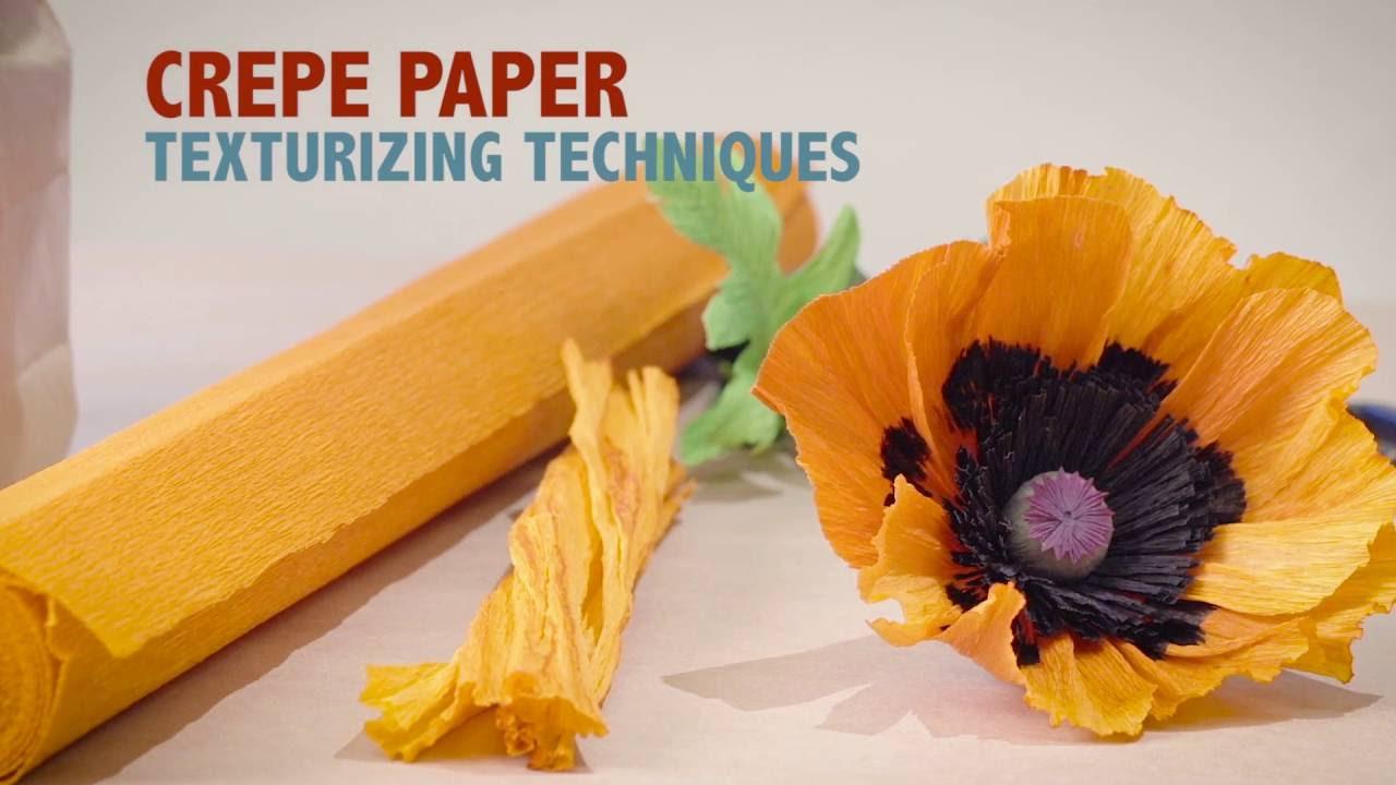 Crepe Paper Techniques Texture