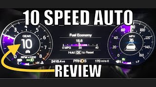 2018-2019 MUSTANG GT 10 Speed Auto Reviewed!!!