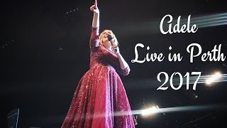 Adele Live in Australia 2017