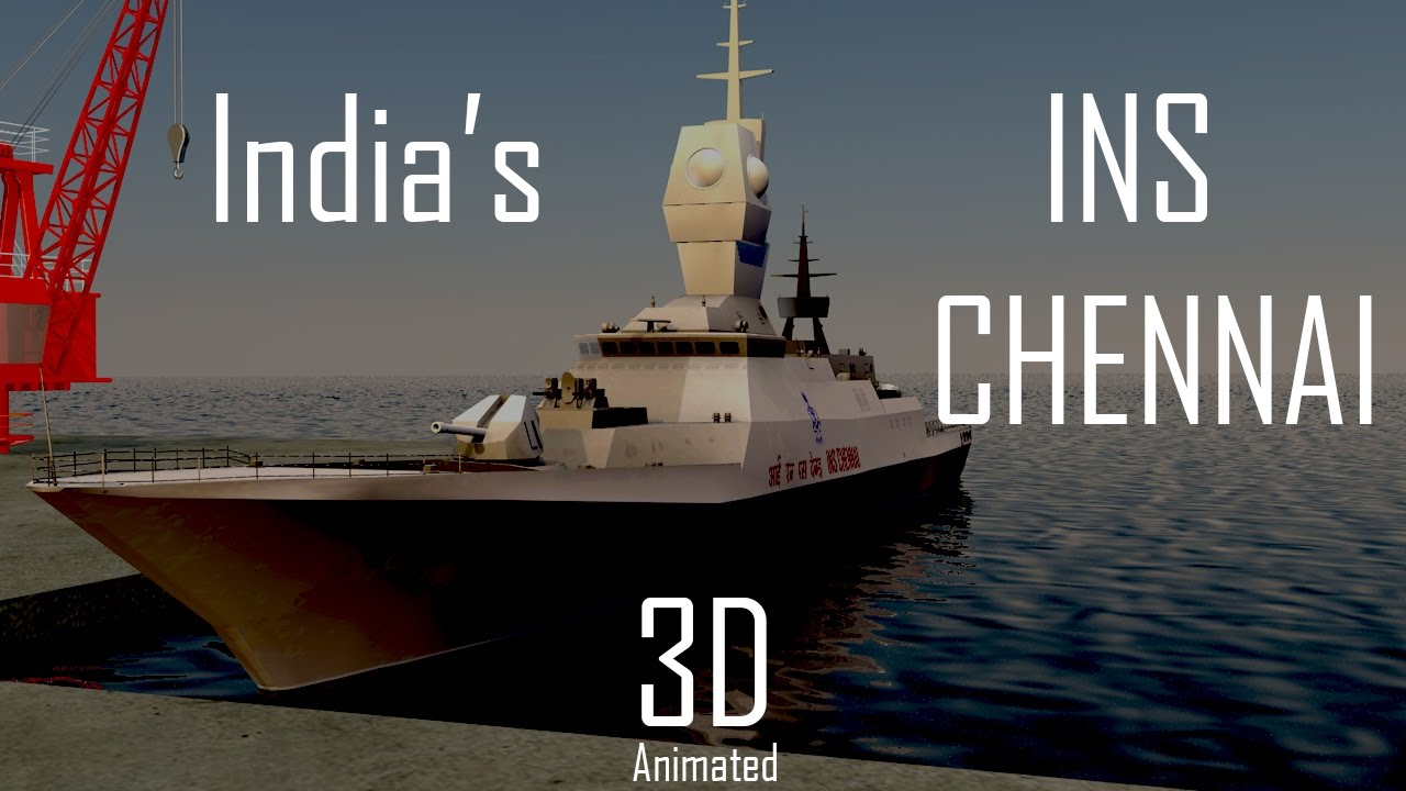 Amazing Facts About Largest Destroyer Ins Chennai Made In -5831