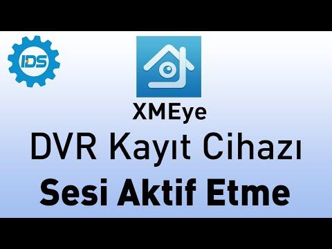 DVR Kayıt Cihazı Mikrofon Sesi Nasıl Aktif Edilir? - XMEYE - TOPSVIEW - XVR