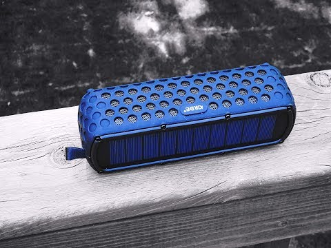 GRDE: Bluetooth Solar Power Water Resistant Speaker
