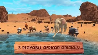 Wild Animals World - Savannah Simulator Android Gameplay