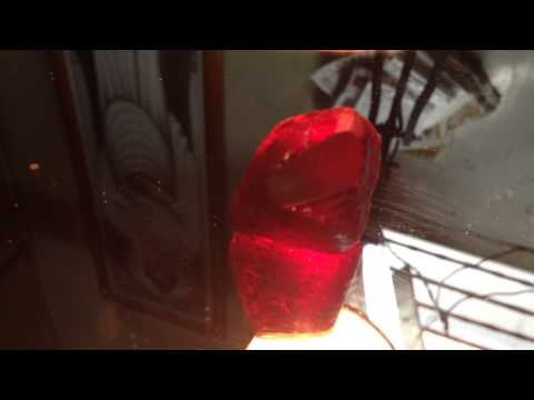 155 carats Natural Burma Mogok Ruby Rough for sale (Final Quality)