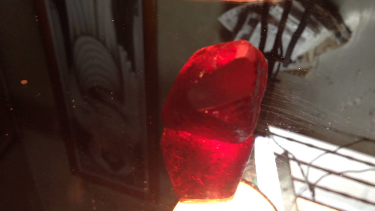 155 carats natural burma mogok ruby rough for sale final for Rough and milne