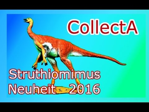 CollectA / Neuheit 2016 !!! / Struthiomimus - Review #81 (german)