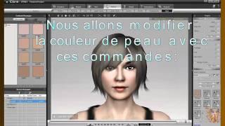 iclone lesson 1 - Création des avatars, première partie - Version Française