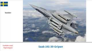 Lockheed Martin F-35 Lightning II & Saab JAS 39 Gripen, Plane performance  comparison