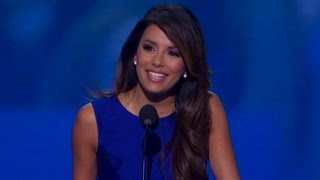 Raw Video: Actress Eva Longoria talks about American opportunity