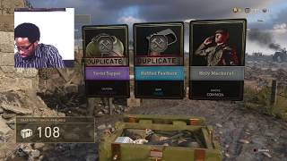 135 Rare Supply Drops Opening COD WW2
