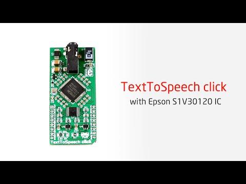 Text To Speech click