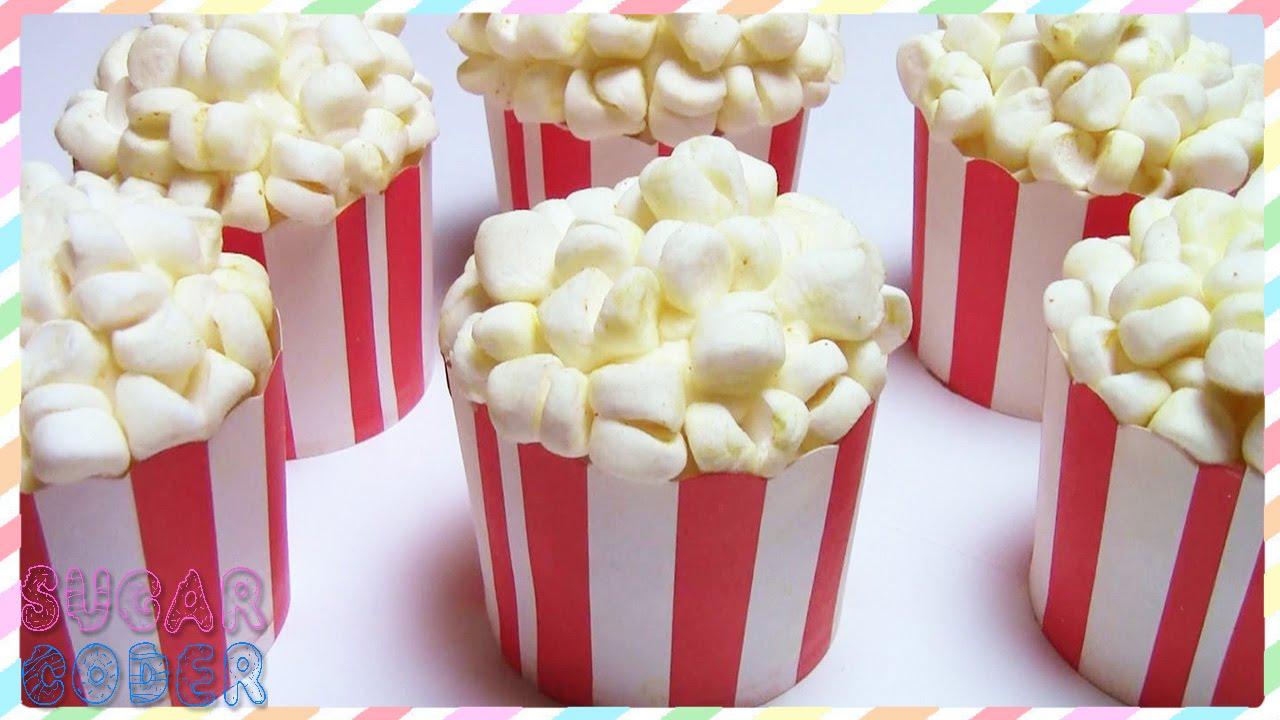 Caramel Popcorn Birthday Cake