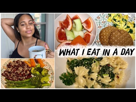 WHAT I EAT IN A DAY | Transitioning to Vegetarian for Beginners