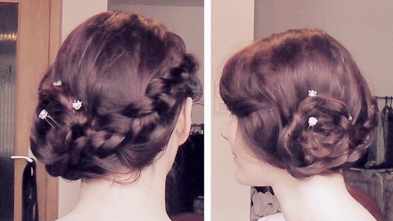 ► Caroline Prom Hair Tutorial Abschlussball Frisur 4x19 YouTube