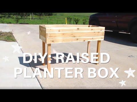 DIY: Building a Modern Raised Planter Box | Melia Janae