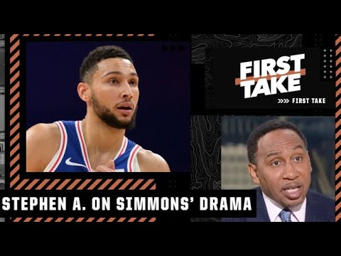Download Ben Simmons has GOT TO GO! - Stephen A. on Simmons getting thrown out of practice | First Take