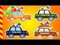 Машинки для детей мультики. 15 МИН.  Разноцветные Машинки для детей 4 лет.