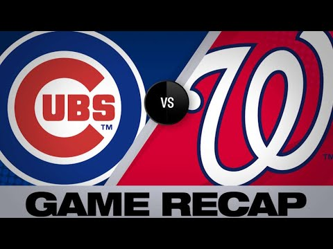 Rizzo's HR, bullpen lead Cubs to win - 5/19/19