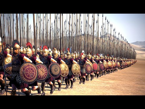 Macedonia Vs The Persian Empire   30,000 Unit cinematic battle   Total War Rome II