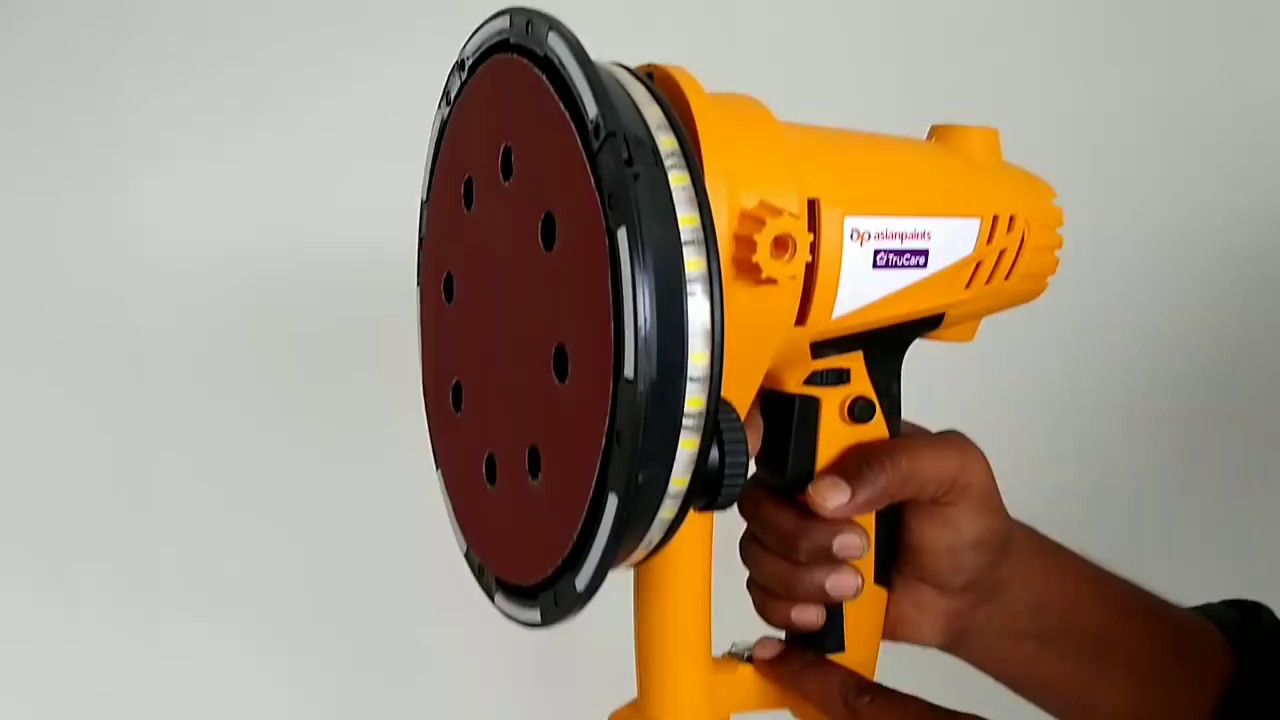 Painting Tools Sanding Machine Asian Paints Interior Designs Youtube