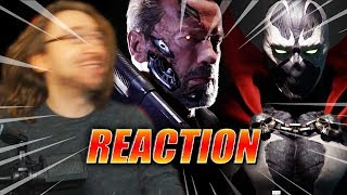 MAX REACTS: Terminator, Spawn, Joker - Kombat Pack Trailer (Mortal Kombat 11)