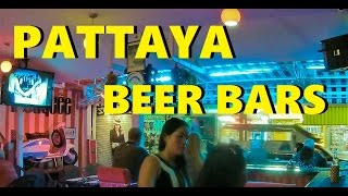 PATTAYA BEER BARS - A NIGHT OUTS EXPERIENCE