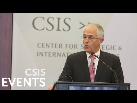 Malcolm Turnbull and Jeh Johnson on Cyber Cooperation