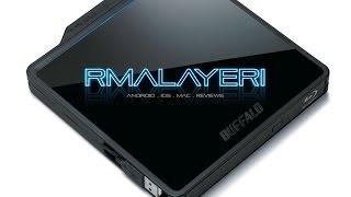 Buffalo MediaStation BDXL Portable Blu-Ray Writer Unboxing - BRXL-PC6U2B